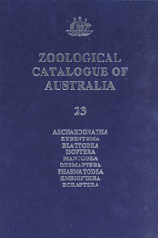 Zoological Catalogue of Australia Volume 23