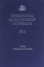 Zoological Catalogue of Australia Volume 37.2