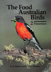 The cover image featuring a red breasted, black headed bird on a moss cove