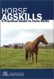 Cover image of Horse Agskills, featuring a horse in a paddock.