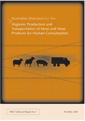 The cover image of Australian Standard for the Hygienic Production and Tra