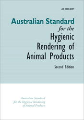 The cover image of Australian Standard for the Hygienic Rendering of Anima