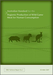 Australian Standard for the Hygienic Production of Wild Game Meat for