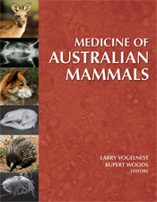The cover image of Medicine of Australian Mammals, featuring pictures of A