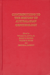cover of Contributions to the History of Australasian Ornithology