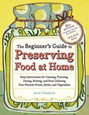 cover of The Beginner's Guide to Preserving Food at Home