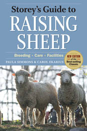 cover of Storey's Guide to Raising Sheep