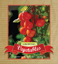 cover of Growing Vegetables
