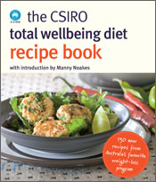 cover of The CSIRO Total Wellbeing Recipe Book