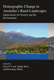 The cover image of Demographic Change in Australia's Rural Landscapes, fea
