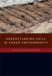 The cover image of Understanding Soils in Urban Environments, featuring a