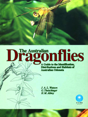 The cover image features a photograph and an illustration of a dragonfly a