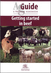 cover of Getting Started in Beef