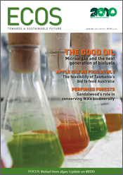 Ecos Issue 158 - Table of Contents