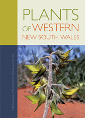 The cover image of Plants of Western New South Wales, featuring a close up
