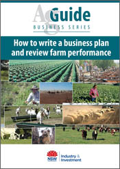 cover of How to Write a Business Plan and Review Farm Performance