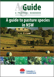 cover of A Guide to Pasture Species in NSW