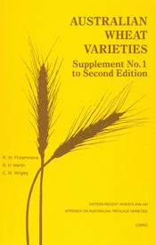 Australian Wheat Varieties Supplement No.1