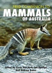 Cover is a bandicoot on a rock.