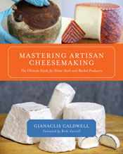 cover of Mastering Artisan Cheesemaking