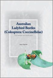 The cover image featuring two red, yellow and black beetles next to each o