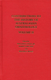 cover of Contributions to the History of Australasian Ornithology Volume