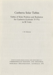 Canberra Solar Tables