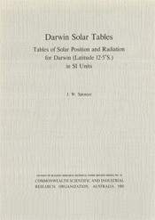 cover of Darwin Solar Tables
