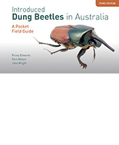 Cover image of Introduced Dung Beetles in Australia, featuring a side-view