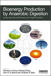 cover of Bioenergy Production by Anaerobic Digestion
