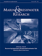 cover of Recovering Australia's Threatened Freshwater Fish