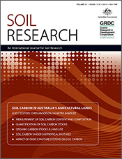 cover of Soil Carbon in Australia's Agricultural Lands