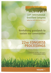 cover of 22nd International Grassland Congress