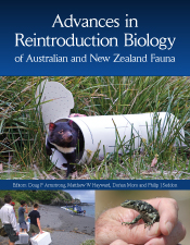Cover image of Advances in Reintroduction Biology of Australian and New Ze