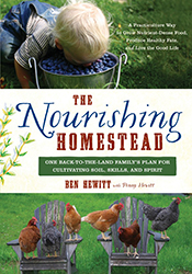 cover of The Nourishing Homestead