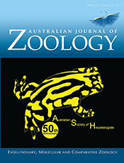 cover of Golden Anniversary of the Australian Society of Herpetologists
