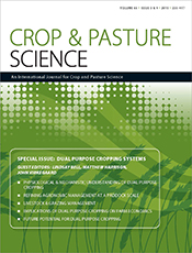 cover of Dual Purpose Cropping Systems