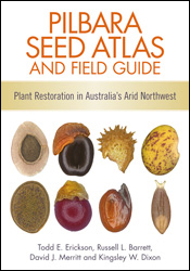 Cover of Pilbara Seed Atlas and Field Guide featuring macro photographs of