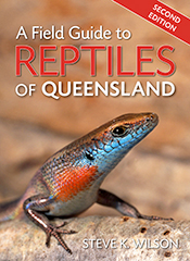 cover of A Field Guide to Reptiles of Queensland