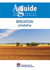 Irrigation: Scheduling