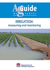 Irrigation: Measuring and Monitoring