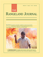 Innovation in Australian Rangelands: A special issue from the 18th Biennial Conference of the Australian Rangeland Society