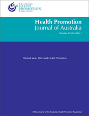 Ethics and Health Promotion