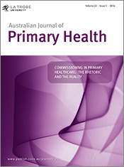 Commissioning in Primary Healthcare: The Rhetoric and the Reality