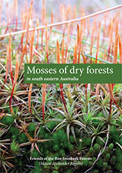 Title and author text over image of mosses.