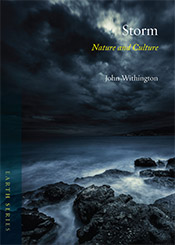 Cover image of a dark and stormy coast, overlaid with the title.