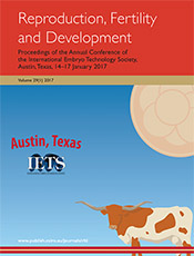 cover of Proceedings of the Annual Conference of the International Embryo