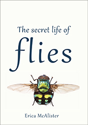 Cover featuring large green and gold fly on a cream background.