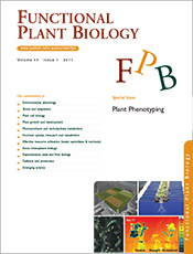 Cover of Functional Plant Biology.