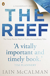 Cover features title text showing through to a blue underwater scene behin